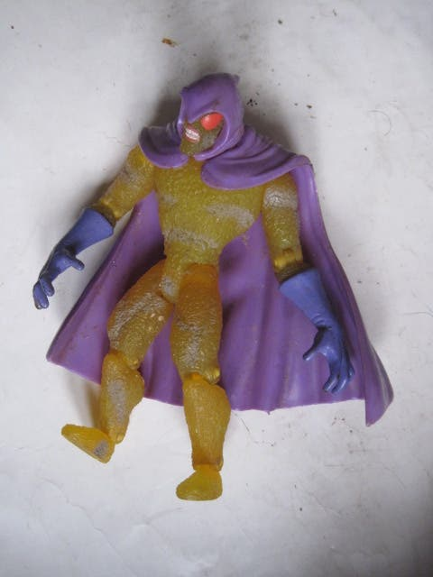 figura Swarm toy biz spiderman marvel 1997 pvc