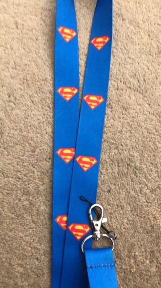 Superman lanyards