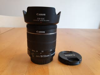 Canon EF-S 18-55mm f/4-5.6 IS STM + EW-63C
