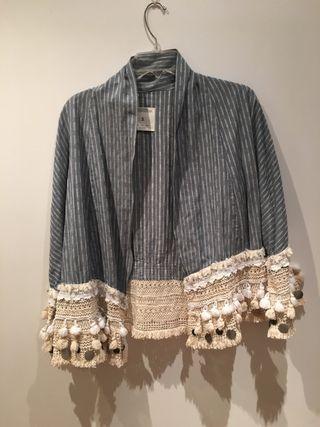 Chaqueta/Kimono de Zara