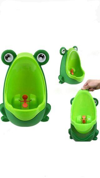 Orinal infantil de rana