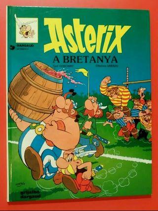 Astèrix a Bretanya. Còmic Català 1981