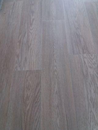 suelo nuevo linoleo vinilico imitación parquet