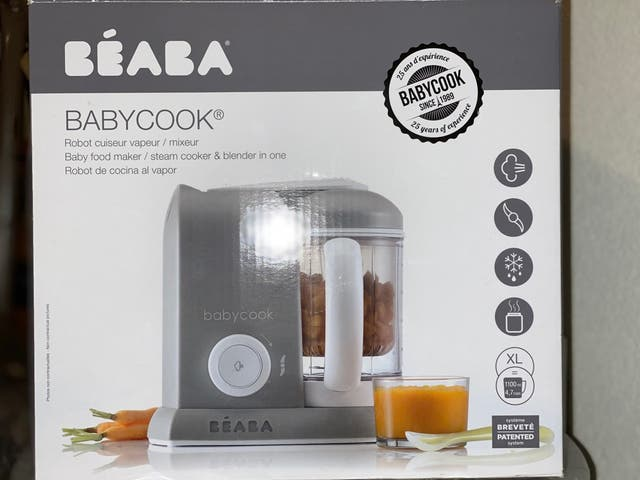 Cocina vapor Babycook