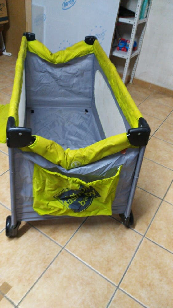 Cuna de viaje bebé