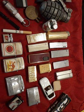 lote mecheros vintage