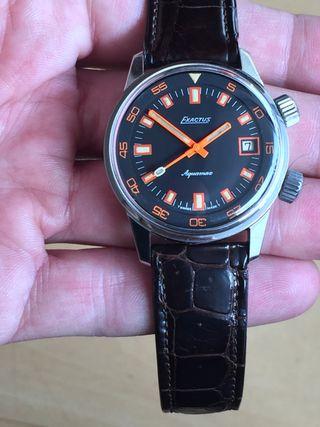 Reloj NOS Exactus Aquamax Super compresor