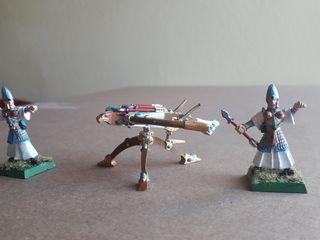 Lanzavirotes Altos Elfos Warhammer