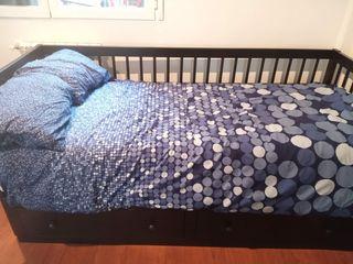 Cama nido individual (mueble 200x86cm, colchón de