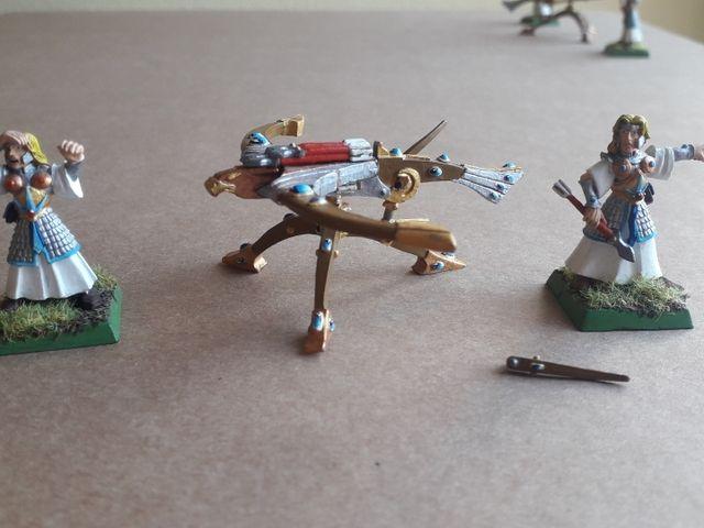 Lanzavitotes Altos Elfos Warhammer