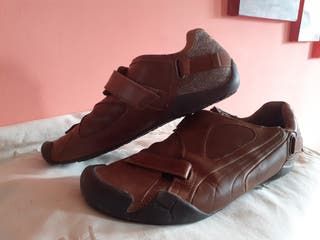 zapatillas de piel puma talla 43