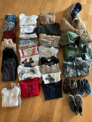 Pack Invierno Ropa Niño 2-3 años