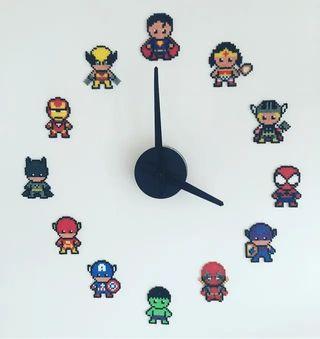 figuras para reloj Marvel