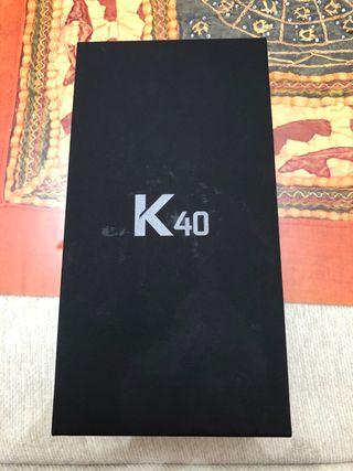 Movil a estrenar: LG K40