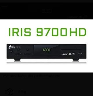 Iris 9700 HD decodificador
