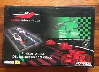 Scalextric set coleccionista circuito Bilbao