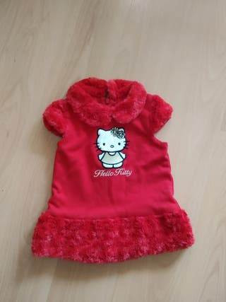 Auténtico vestido Hello Kitty