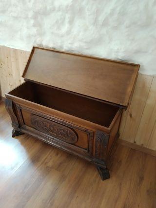baúl madera