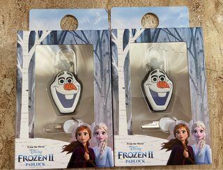 Candados e identificador de maleta Olaf