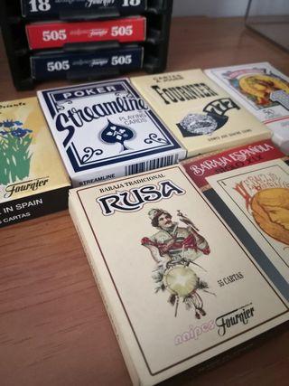 Colección de cartas naipes Fournier