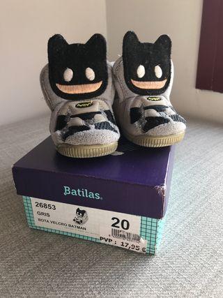 Calzado Bebe Batman Batilas 20