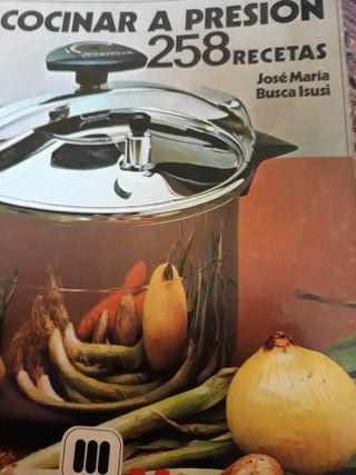 libro cocinar a presion