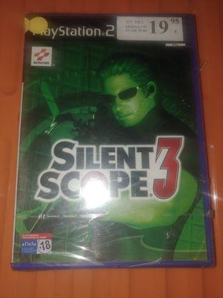Silent Scope 3 - PS2 ¡¡NUEVO PRECINTADO!!