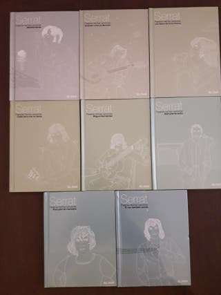Colección Joan Manuel Serrat audiolibros (CD)