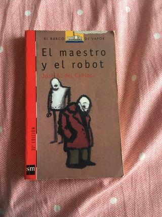 """Libro infantil """"el maestro y el robot"""""""