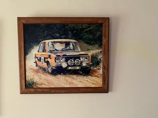 Cuadro Seat 124 Rally