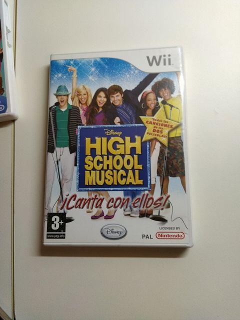 high School musical juegos de wii