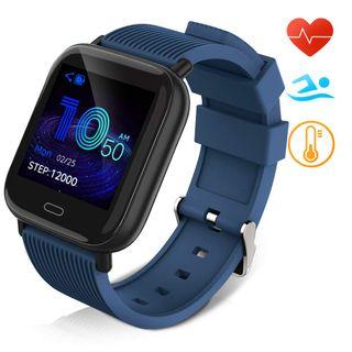 Reloj inteligente IP67 azul