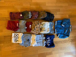 Pack Top Marcas Ropa Invierno Niño 2-3 años