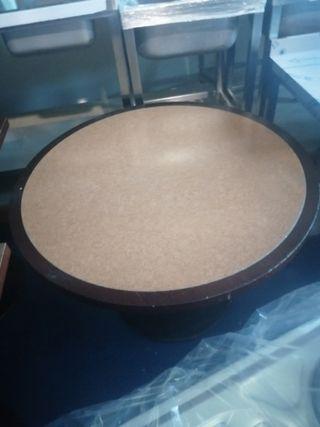 Mesa grande redonda