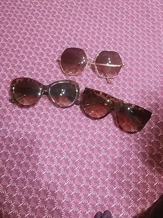 Gafas de sol 3x 15€