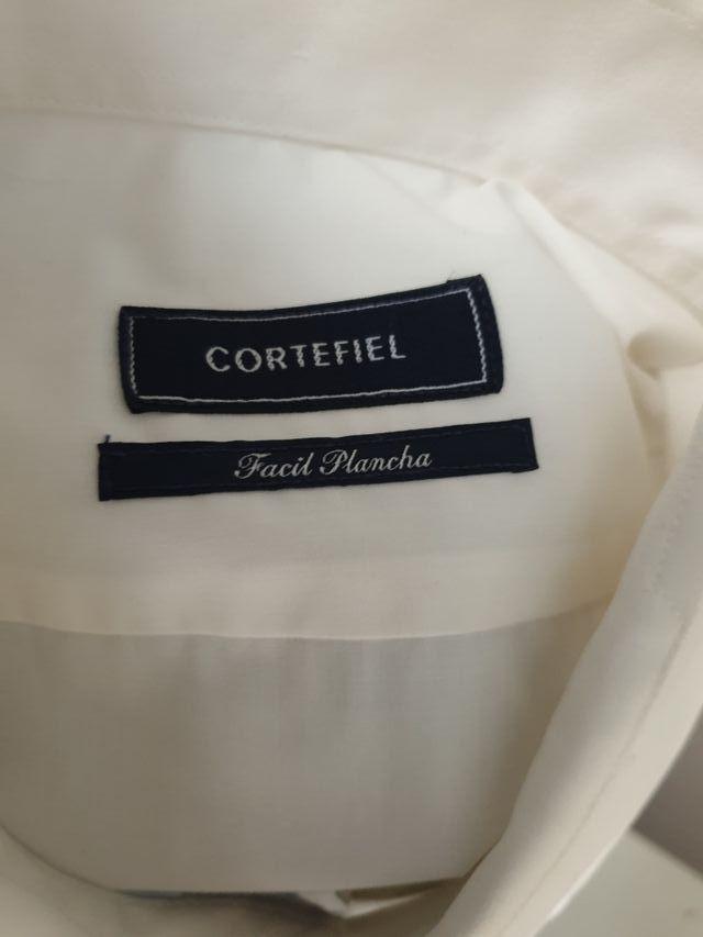camisa hombre blanca talla L