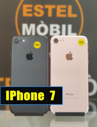 IPhone 7 128GB - IMPECABLE (TIENDA)