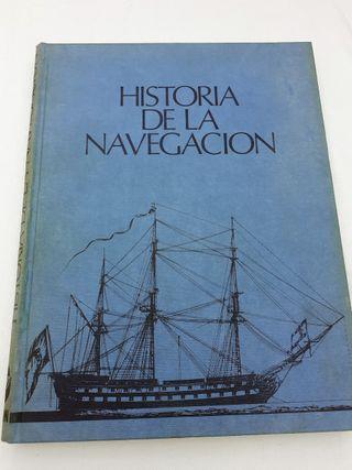Libro Historia de la navegacion