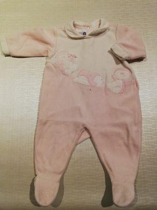 Pijama bebe niña talla 3 meses