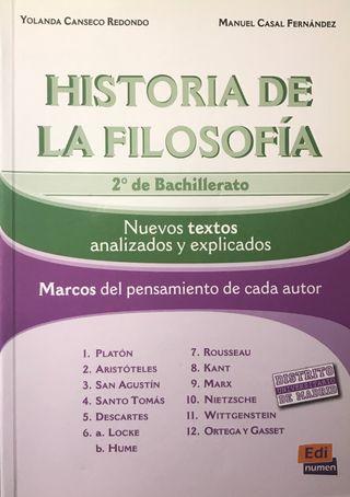 Hª de la Filosofía, 2º Bach. Análisis de textos.
