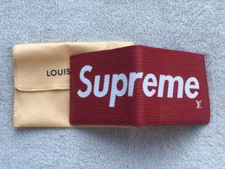 Cartera Supreme x Louis Vuitton