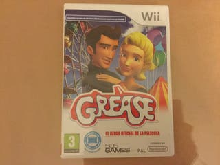 Juego wii GREASE