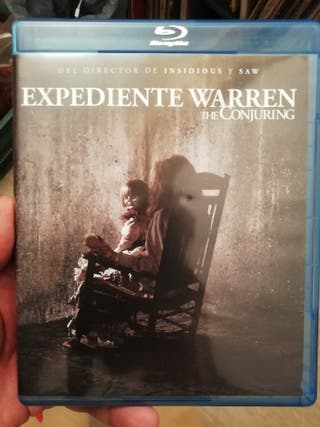 Expediente Warren, Blu Ray