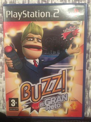 Juego ps2 buzz el gran reto
