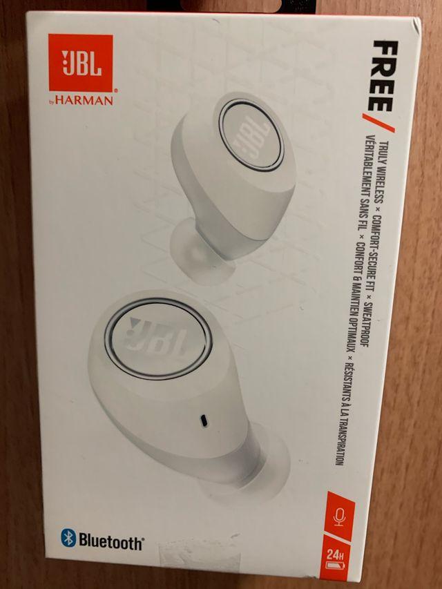 JBL Auriculares inalámbricos Bluetooth Blancos