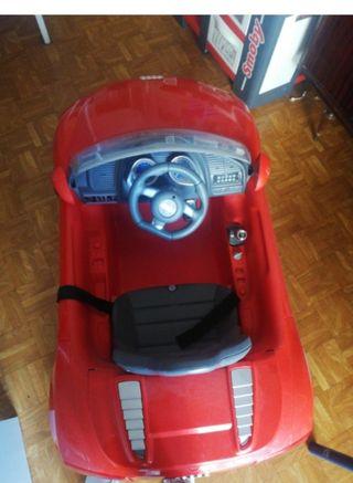 coche de bateria pa niños con mando a distancia