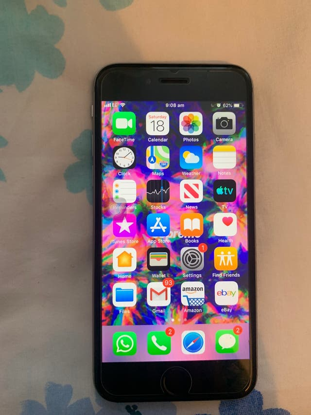 iPhone 6 64 gb unlocked, any network, free case