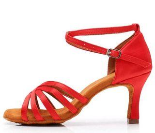 Zapato baile latino talla 37 y 38 tacón 7,5