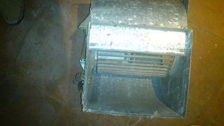 Ventilador extractor centrifugo monofasico