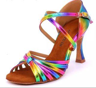 Zapato baile latino talla 39 tacón 7,5